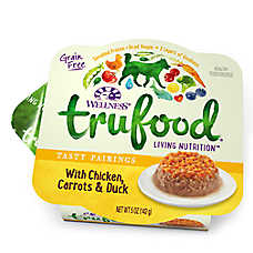 Wellness® TruFood® Tasty Pairings Dog Food - Natural, Grain Free, Chicken, Carrots & Duck