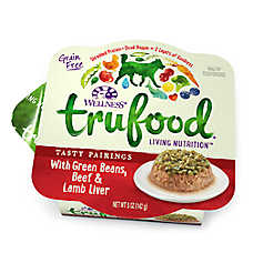 Wellness® TruFood® Tasty Pairings Dog Food - Natural, Grain Free, Beef & Green Beans