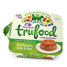 Wellness® TruFood® Tasty Pairings Dog Food - Natural, Grain Free, Pumpkin, Lamb & Duck