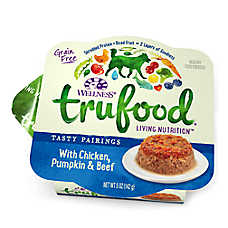 Wellness® TruFood® Tasty Pairings Dog Food - Natural, Grain Free, Chicken, Pumpkin & Beef