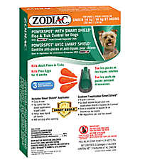 ZODIAC® PowerSpot® Plus II Flea & Tick Dog Treatment