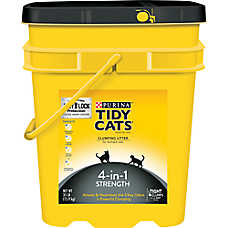 Purina® TIDY CATS® 4-in-1 Strength Cat Litter - Clumping, Mulitple Cats