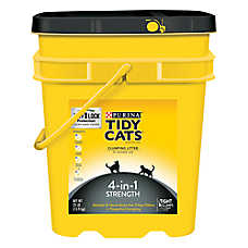 Purina® TIDY CATS® 4-in-1 Strength Cat Litter - Clumping, Multi Cat
