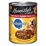 PEDIGREE® Homestyle Meals Adult Dog Food - Beef & Vegetable