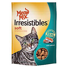 Meow Mix® Irresistibles Salmon Soft Cat Treat