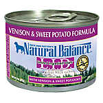 Natural Balance Limited Ingredient Diets Dog Food - Grain Free, Venison & Sweet Potato