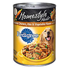 PEDIGREE® Homestyle Meals Adult Dog Food - Roasted Chicken, Rice & Vegetable