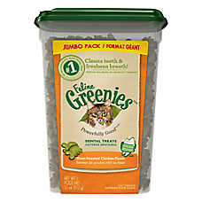 Feline GREENIES® Oven Roasted Chicken Dental Cat Treats