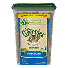 Feline GREENIES® Tempting Tuna Dental Cat Treats