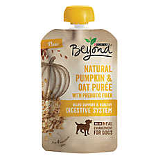 Purina® Beyond® Meal Enhancement Dog Food Mixer - Natural Pumpkin & Oat Puree, Digestive Care