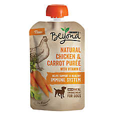 Purina® Beyond® Meal Enhancement Dog Food Mixer - Natural Chicken & Carrot Puree, Immune Support