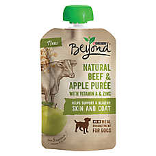Purina® Beyond® Meal Enhancement Dog Food Mixer - Natural Beef & Apple Puree, Skin & Coat