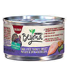 Purina® Beyond® Natural Cat Food - Grain Free, Turkey, Sweet Potato & Spinach
