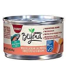 Purina® Beyond® Natural Cat Food - Grain Free, Salmon & Sweet Potato