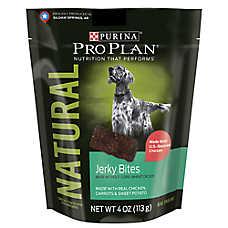 Purina® Pro Plan® Natural Jerky Bites Dog Treat