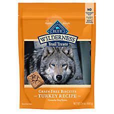 BLUE Wilderness® Trail Treats Grain Free Turkey Dog Treat