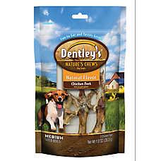Dentley's® Nature's Chews Natural Chicken Feet Dog Treats