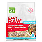 Only Natural Pet EasyRaw Dog Food - Raw, Grain Free, Dehydrated, Beef & Sweet Potato