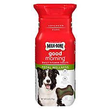 Milk-Bone® Good Morning Daily Vitamin Dog Treat - Total Wellness