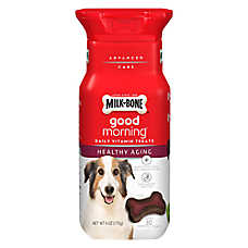 Milk-Bone® Good Morning Daily Vitamin Dog Treat - Healthy Aging