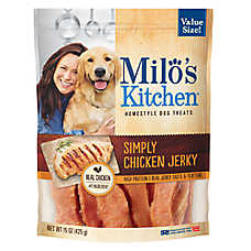Milo's Kitchen® Natural Chicken Jerky Dog Treat