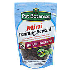 Pet Botanics® Natural Beef Mini Training Reward Dog Treat