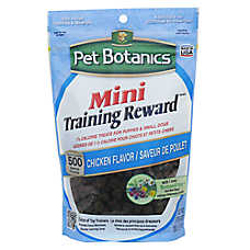 Pet Botanics® Natural Chicken Mini Training Reward Dog Treat