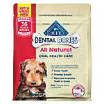 BLUE™ Dental Bones Natural Regular Dog Treat