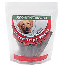 Only Natural Pet Green Tripe Sticks Dog Treat
