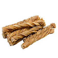 "Only Natural Pet Free Range 10"" Tripe Twist Dog Treat"