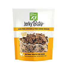 Only Natural Pet Grain Free Chicken & Venison Jerky Bites Treat