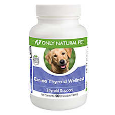 Only Natural Pet Canine Thyroid Wellness Chewable Tablets