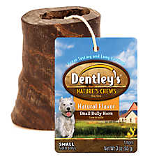 Dentley's® Nature's Chews Natural Bully Horn Small Dog Treat