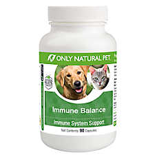 Only Natural Pet Immune Balance & Immune System Support Capsules