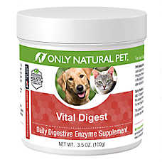 Only Natural Pet Vital Digest Digestive Enzyme Supplement