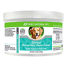 Only Natural Pet Senior Ultimate Daily Vitamins Plus Powder