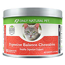 Only Natural Pet Hairball Chewable Cat Supplement