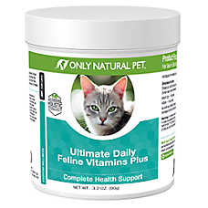 Only Natural Pet Ultimate Daily Feline Vitamins Plus Powder