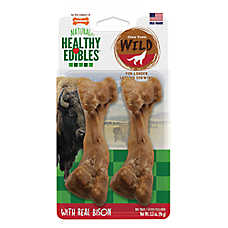 Nylabone® Healthy Edibles® Natural, Grain Free, Bison, Meduim Dog Treat