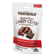 Nutrience® Grain Free Cabin Cuts Venison & Cranberry Dog Treat