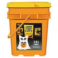 Purina® TIDY CATS® Scary Pail 4-in-1 Strength Clumping Cat Litter