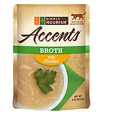 Simply Nourish™ Accents Adult Cat Food - Broth, Chicken