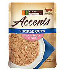 Simply Nourish™ Accents Adult Cat Food - Simple Cuts, Salmon