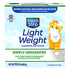 Fresh Step® Lightweight Multi-Cat Unscented Cat Litter