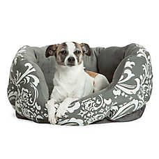 Best Friends by Sheri Dutchess Cuddler Dog Bed