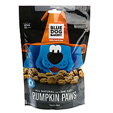 Blue Dog Bakery Natural Pumpkin Paws Dog Treat
