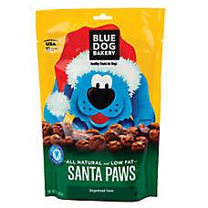 Blue Dog Bakery Santa Paws Dog Treat - Natural, Gingerbread