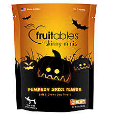 Fruitables® Skinny Minis™ Gluten Free Pumpkin Spice Dog Treat