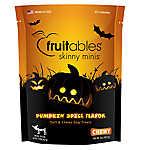 Fruitables® Skinny Minis™ Gluten Free Pumpkin Spice Dog Treat