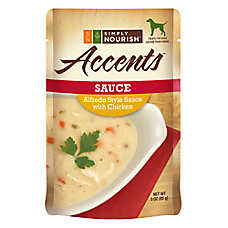 Simply Nourish™ Accents Adult Dog Food - Sauce, Alfredo with Chicken